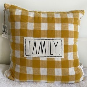 Rae Dunn FAMILY Cushions - New with tag